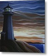 Newfoundland Lighthouse Metal Print