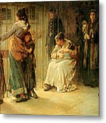 Newgate Committed For Trial, 1878 Metal Print