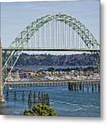 Newport Bridge Metal Print