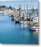 Newport Fishing Fleet  Metal Print
