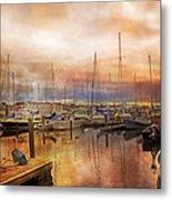 Newport Rhode Island Harbor I Metal Print