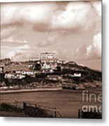 Newquay In Cornwall Metal Print