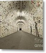 News In The Tunnel Metal Print