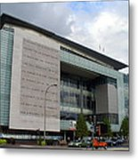Newseum In Washington Dc Metal Print