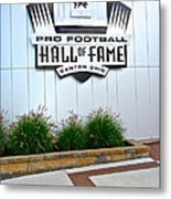 Nfl Hall Of Fame Metal Print by Frozen in Time Fine Art Photography