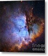 Ngc 281 Starbirth Region, Optical Image Metal Print