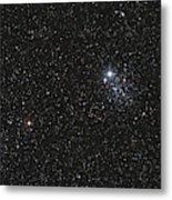Ngc 457, The Owl Cluster Metal Print