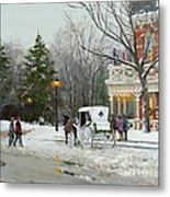 Niagara Carriage By The Prince Of Wales Metal Print
