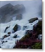 Niagara Falls At A Different Point Of View Metal Print