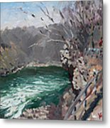 Niagara Falls Gorge Metal Print