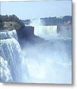 Niagara Falls - New York Metal Print by Mike McGlothlen