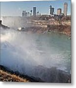 Niagara Falls Panorama Metal Print