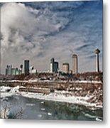 Niagara Falls The City 4534 Metal Print