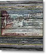 Niagara Spray Beer Metal Print