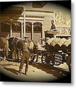 Niagra Carting Wagon Extras The Great White Hope Set Globe Arizona 1969-2014 Metal Print