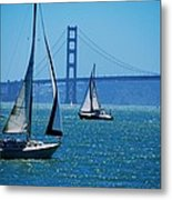 Nice Day On The Bay Metal Print