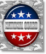 Nice National Guard Shield 2 Metal Print by Pamela Johnson