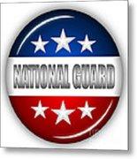 Nice National Guard Shield Metal Print by Pamela Johnson