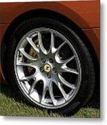 Nice Wheel Metal Print