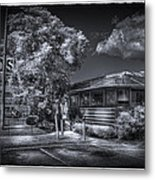Nicko's Restaurant Metal Print by Marvin Spates