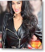Nicole Scherzinger 21 Metal Print by Jez C Self