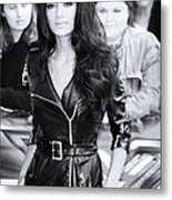 Nicole Scherzinger 22 Metal Print by Jez C Self