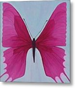 Nicole's Butterfly Metal Print