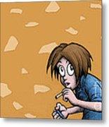 Nicotine Moments I Metal Print by M o R x N