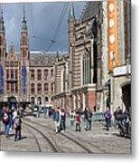 Nieuwe Kerk In Amsterdam Metal Print