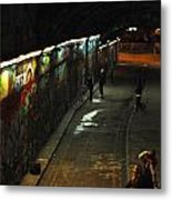 Night Activity Metal Print