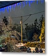 Night After The Ice Storm Metal Print
