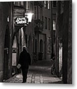 Night Appointment Metal Print
