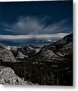 Night At Olmstead Point Metal Print by Cat Connor