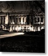 Night At The Library II Metal Print