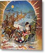 Night Before Christmas Metal Print by Granger