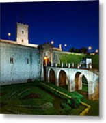 Night Castle Metal Print