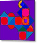 Night Color Metal Print