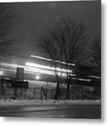 Night Commute Metal Print