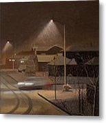 Night Drive Metal Print