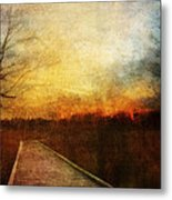 Night Falls Metal Print