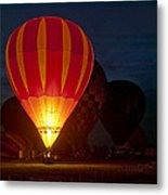 Night Glow Metal Print