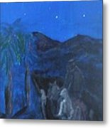 Night In The Desert Metal Print