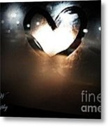 Night Life Love Metal Print