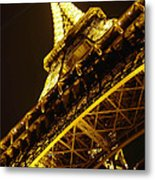 Night Lights Metal Print
