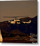 Night Mission Metal Print