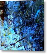 Night Mist Metal Print