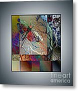 Night Moth Metal Print