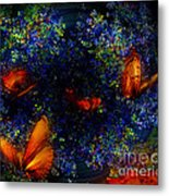 Night Of The Butterflies Metal Print