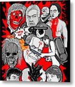 Night Of The Creeps  Metal Print by Gary Niles
