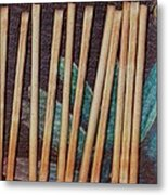 Night On The Bread Stick Planet Metal Print
